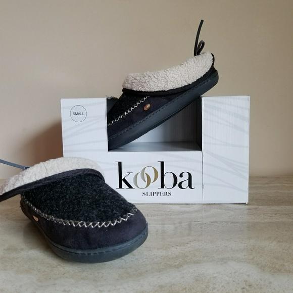 4f19b840320 Kooba Women s Slippers Black   White Size 6